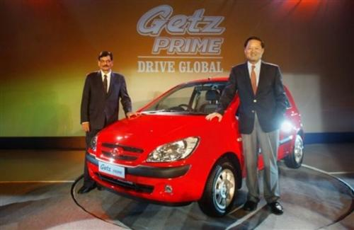 File photograph of Mr H S Lheem at the launch of Getz prime