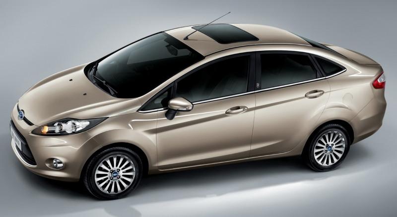 All-new Ford Fiesta Sedan