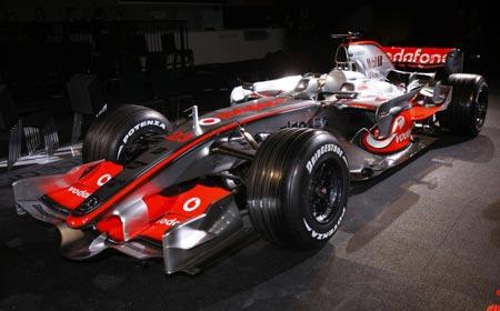 2008-f1-mclaren-car