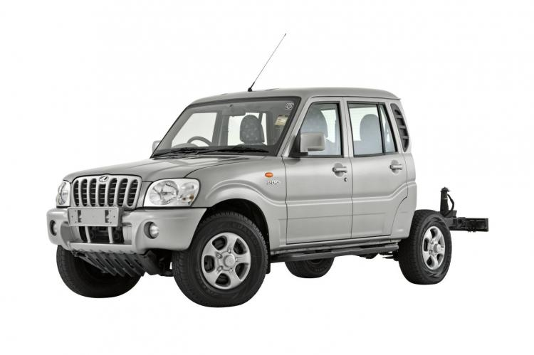 2009 mahindra cab chassis variant