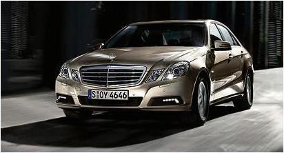 2010 Mercedes Benz E-Class Sedan Leaked Press Photo