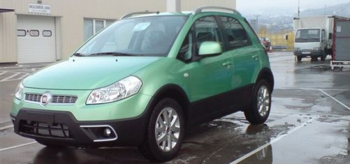 Fiat Sedici bumper