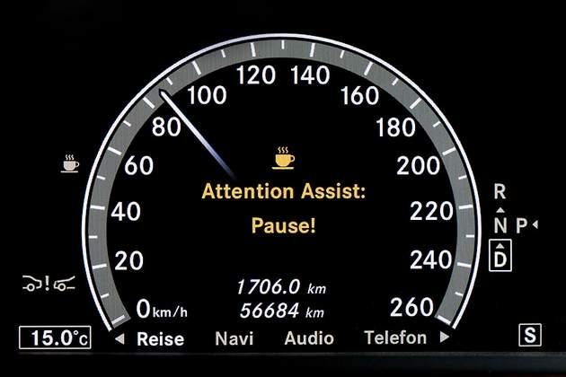 Mercedes Benz Drowsy Alert