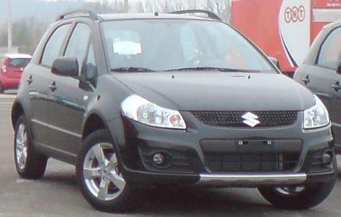 2009 Suzuki SX4 Facelift