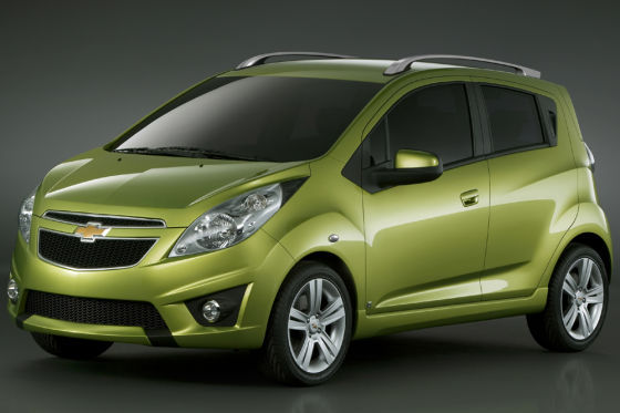 Chevrolet Beat Production Image