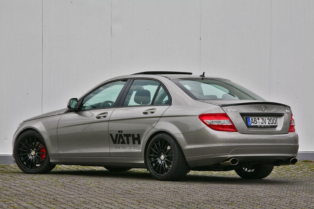Vath tunes the Mercedes Benz C200 Kompressor
