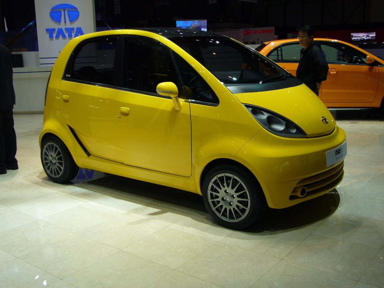 Geneva 2009- Tata Nano Europa, Indica Vista EV And Tata