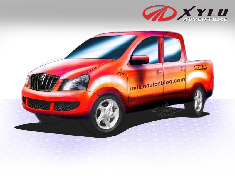 Mahindra Xylo pickup truck
