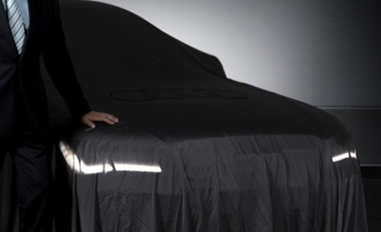 Audi Reveals First Teaser Image Of Audi A - Audi a8 car cover