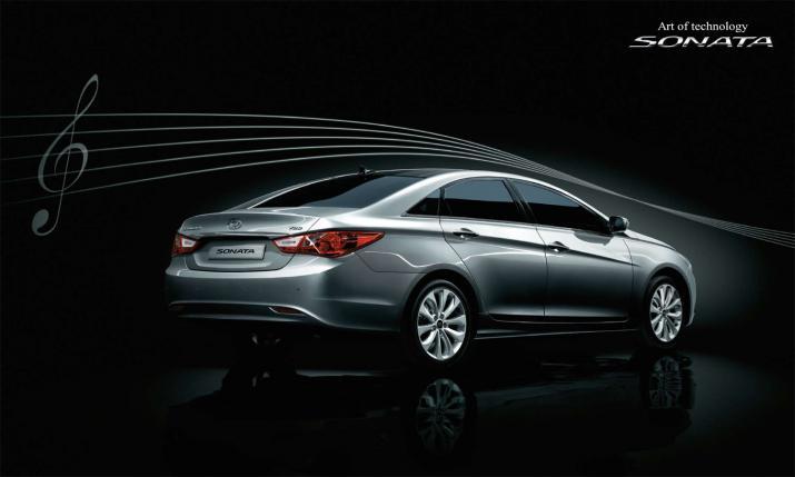 New Hyundai Sonata i40 - 6
