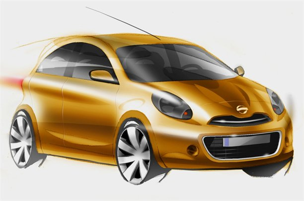 2011 Nissan Micra/Nissan March official sketch