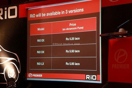 Premier_Rio_price