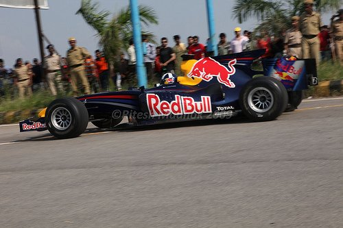 Red Bull Speed Link David Coulthard