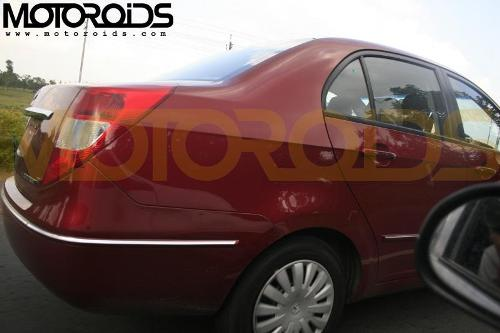 Tata Indigo Manza front rear - 2