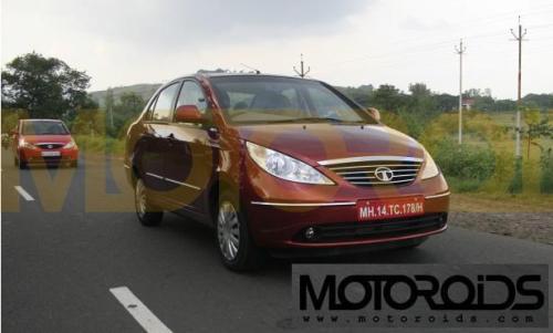 Tata Indigo Manza front rear - 3