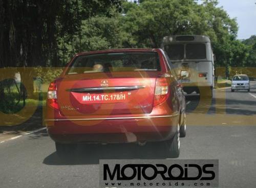 Tata Indigo Manza front rear - 4