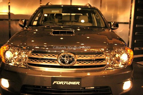 Toyota_Fortuner front fascia
