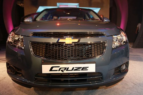 Chevrolet Cruze front fascia