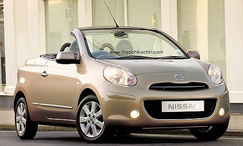 rendering nissan micra cabriolet. Black Bedroom Furniture Sets. Home Design Ideas