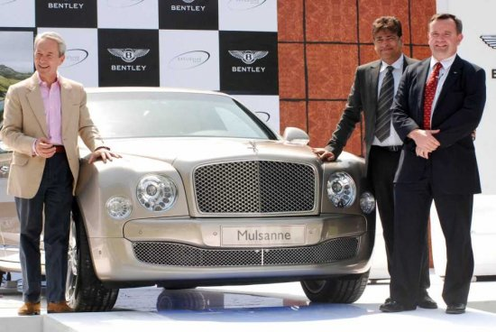 Bentley-Mulsanne-India
