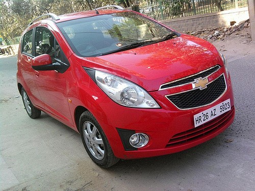 Chevrolet Beat Red