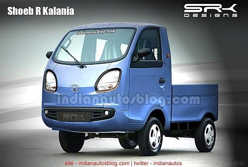 Tata Iris Pickup truck