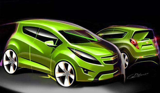 Chevrolet Beat Design