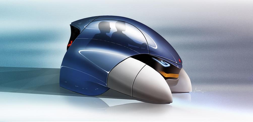 fiat mio FCC 3 concept car - 22