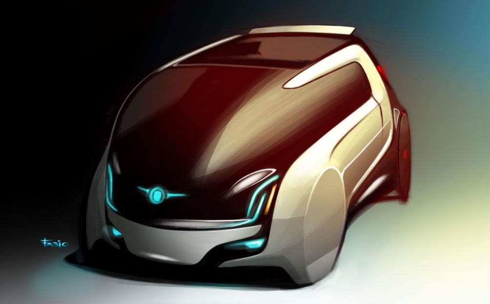 fiat mio FCC 3 concept car