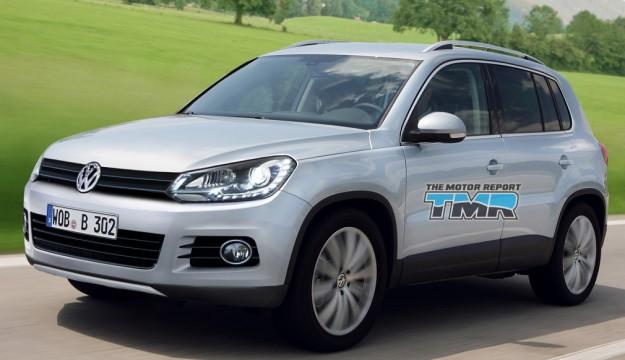 2011 Volkswagen Tiguan Rendering