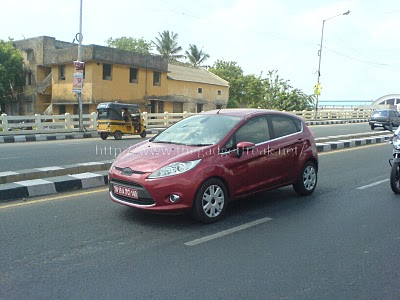 Euro Ford Fiesta hatchback