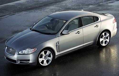 Jaguar XF sales milestone