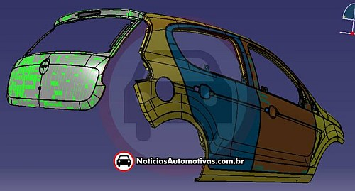 Leaked drawings 2012 Fiat Palio