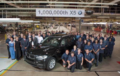 One million BMW X5