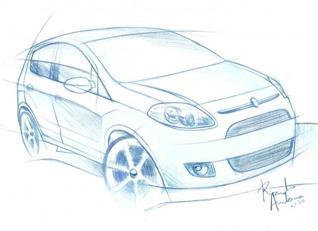 Rendering 2012 Fiat Palio