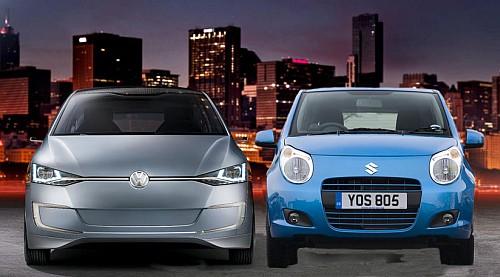 Volkswagen Suzuki joint development