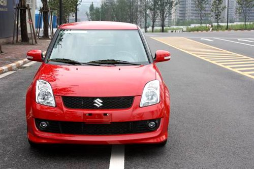 facelifted Suzuki swift