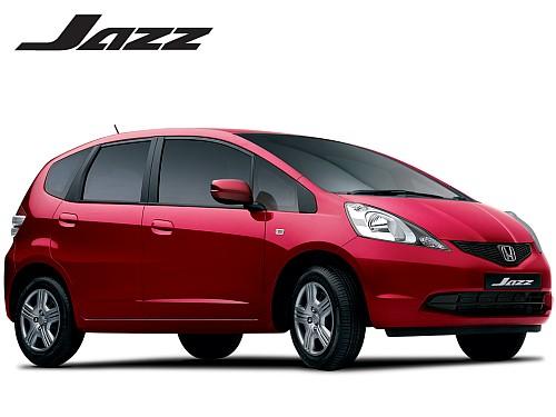 revised Honda Jazz