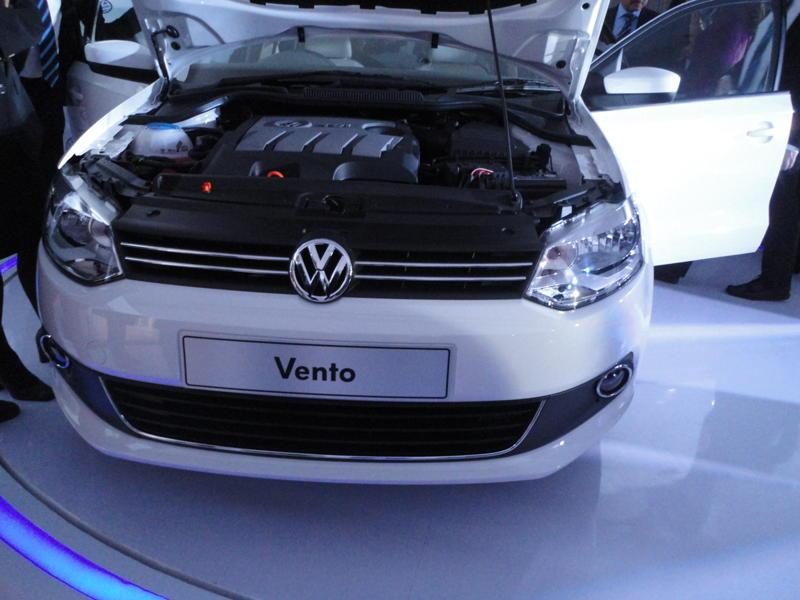 Volkswagen Vento India launch
