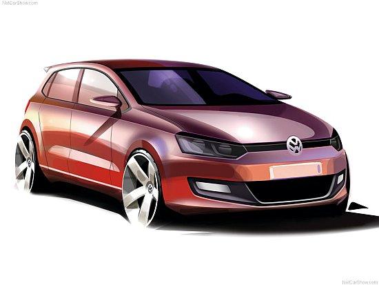 Volkswagen Polo sketch