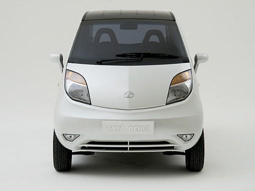 Tata Nano silver