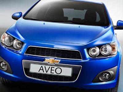 New Chevrolet Aveo