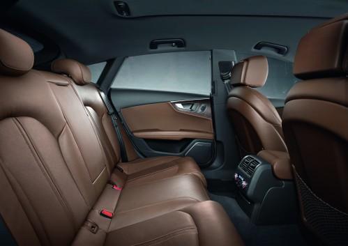 Audi A7 rear seat