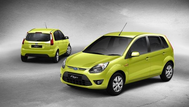 Ford Figo green