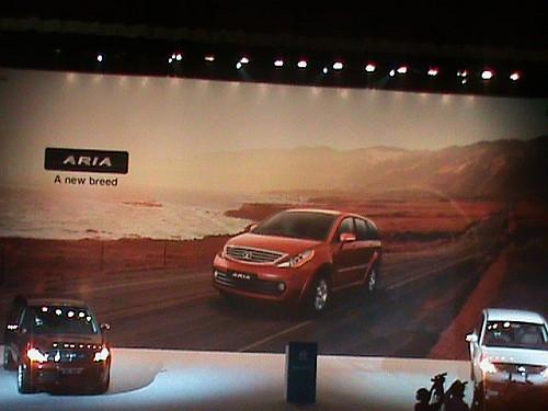 Tata Aria launch