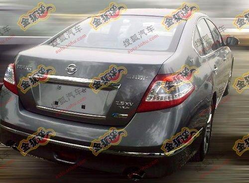2011 Nissan Teana rear