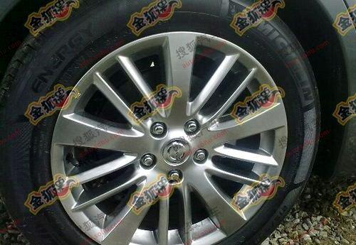2011 Nissan Teana alloy wheels