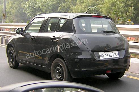 2011 Suzuki Swift India