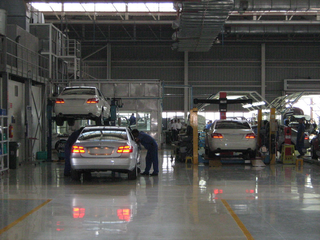 Mercedes Benz Pune Plant Tour 31