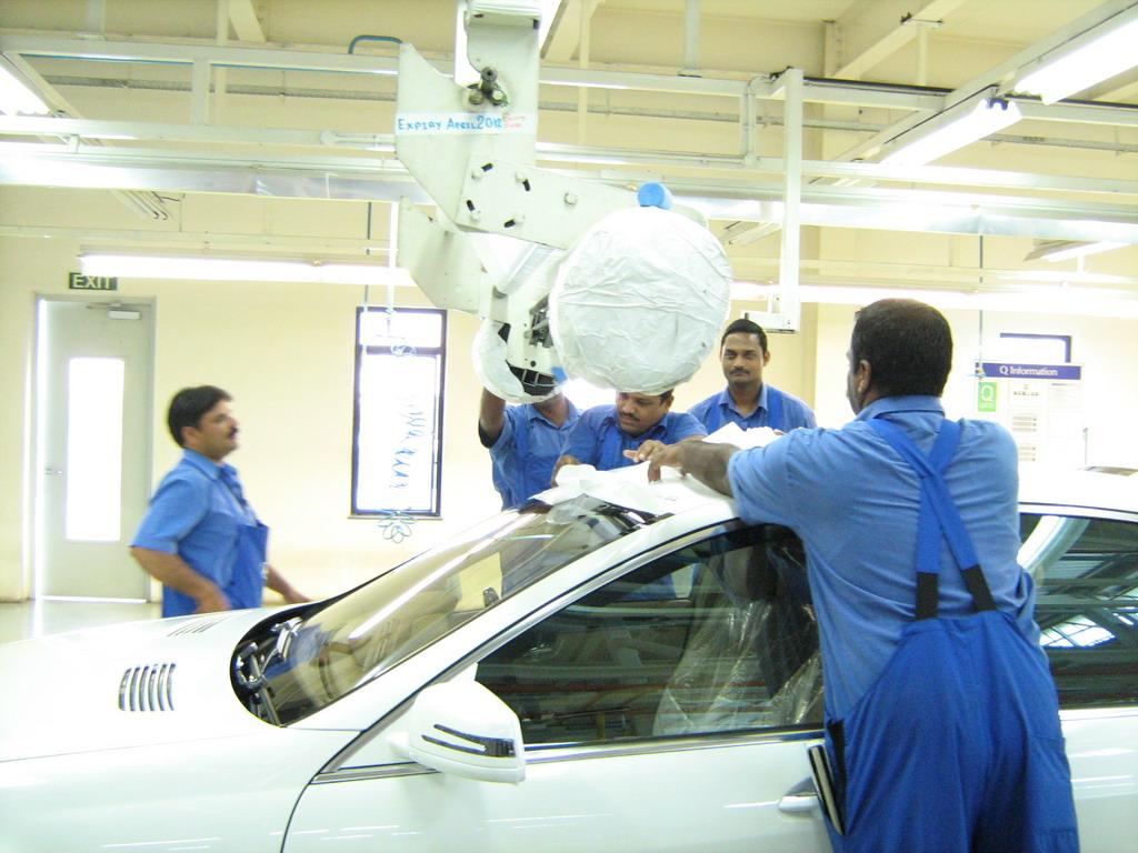 Mercedes Benz Pune Plant Tour 38